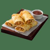 Starters, Pizza Hut, Chicken BBQ Spin Rolls ,