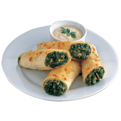 Starters, Pizza Hut, Spinach Spin Rolls